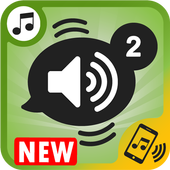 ringtones and notifications, free sounds for phone icon