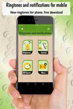 ringtones and notifications, free sounds for phone poster