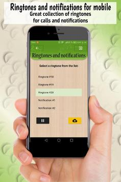 ringtones and notifications, free sounds for phone screenshot 1
