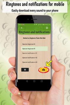 ringtones and notifications, free sounds for phone screenshot 2