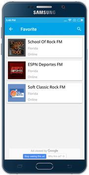 Florida Radio-USA FM Stations screenshot 3