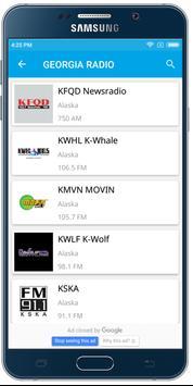 Georgia Radio-USA FM Stations screenshot 4