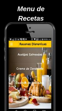 Dietary food recipes screenshot 1