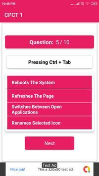 CPCT EXAM Objective Question screenshot 2