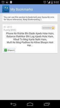 Hindi SMS screenshot 4