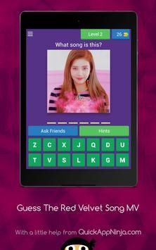 Guess The Red Velvet Song From MV ❤️ screenshot 2