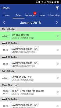 Lingfield Primary School captura de pantalla 1
