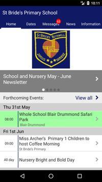 St Bride's Primary School Poster