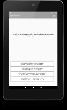 My Bruce Lee Quiz screenshot 4