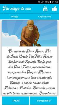 Oração de São Lázaro pelo milagre da cura screenshot 2
