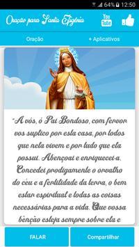 Oração para Santa Efigênia screenshot 2