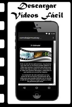 Bajar Música Y Vídeos Gratis A Mi Celular Guide screenshot 5