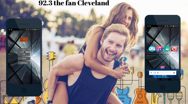 92.3 The Fan Cleveland poster