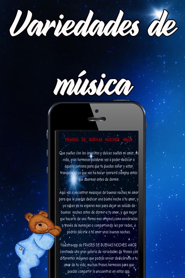 Frases Bonitas Buenas Noches Mi Amor For Android Apk