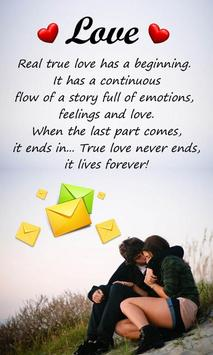 Love SMS Messages screenshot 4