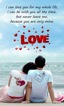 Love SMS Messages poster