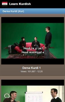 Learn Kurdish screenshot 2