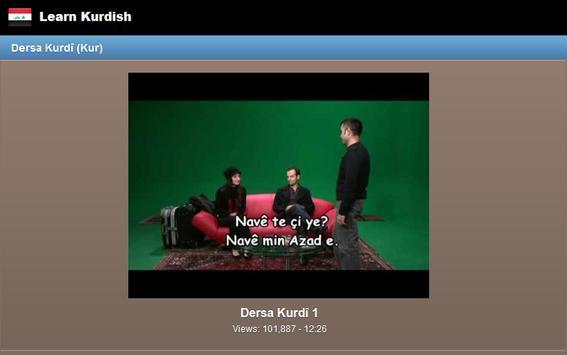 Learn Kurdish screenshot 8