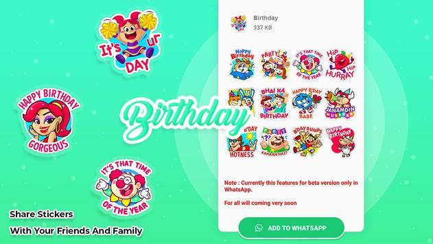 Birthday stickers for whatsapp screenshot 3