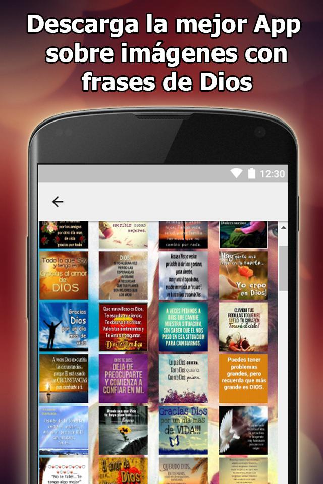 Imagenes De Dios Con Frases For Android Apk Download