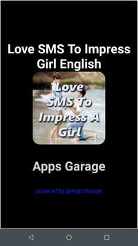 Love SMS To Impress Girl English screenshot 2