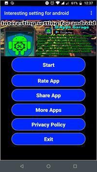 Interesting Setting For Smartphone screenshot 1