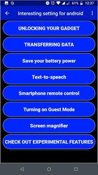 Interesting Setting For Smartphone screenshot 2