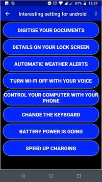 Interesting Setting For Smartphone screenshot 3