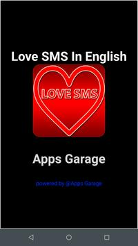 Love SMS In English poster