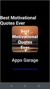 Best Motivational Quotes Ever poster