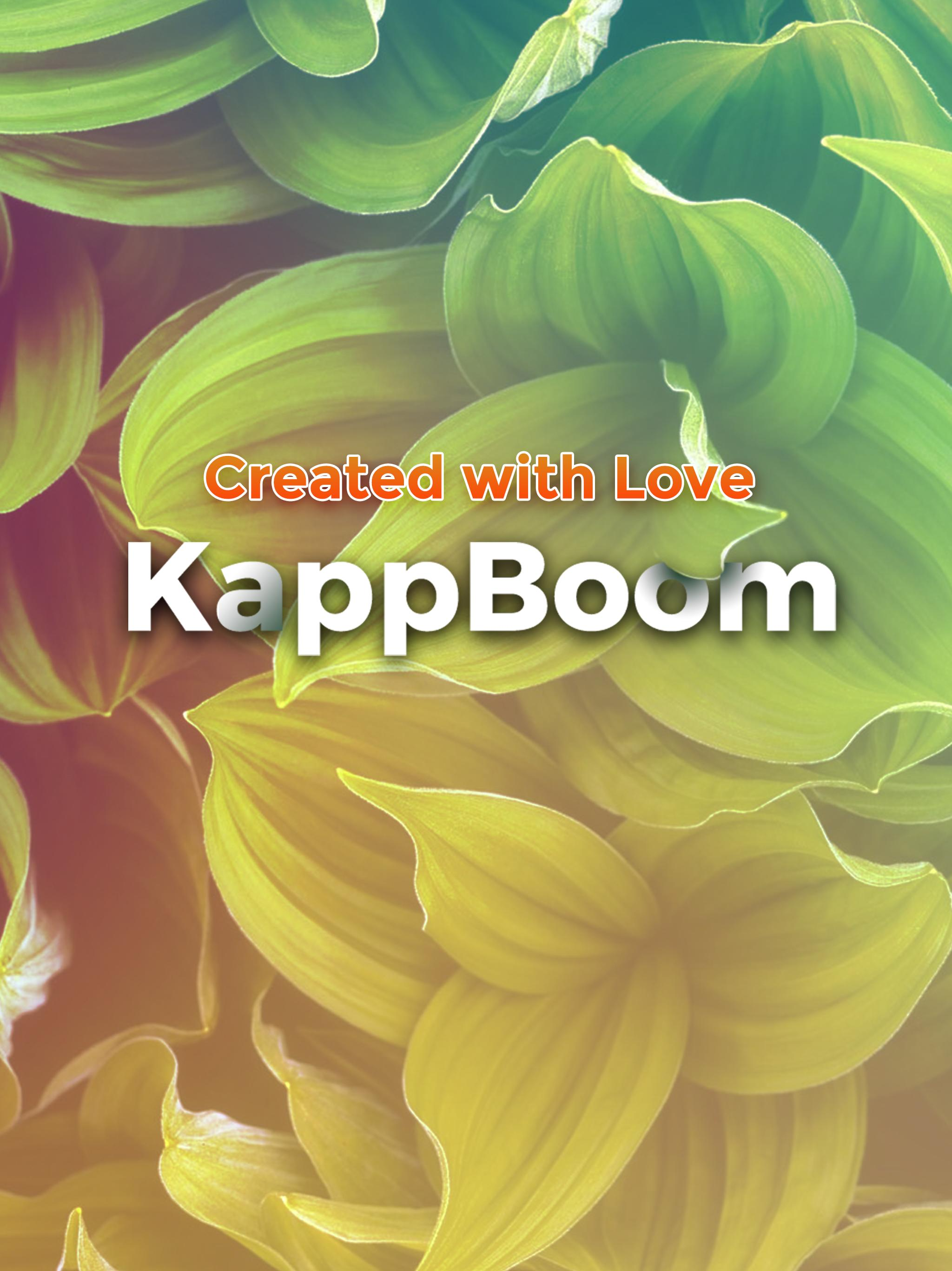 Kappboom - Cool Wallpapers & Background Wallpapers poster