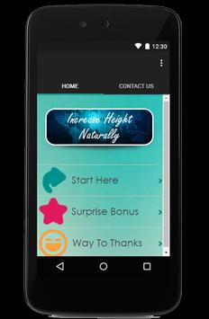 Increase Height Naturally Tip for Android - APK Download