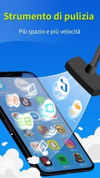 Poster KeepClean - booster, antivirus, risparmio batteria