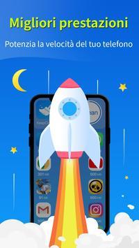 1 Schermata KeepClean - booster, antivirus, risparmio batteria