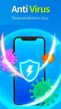 2 Schermata KeepClean - booster, antivirus, risparmio batteria