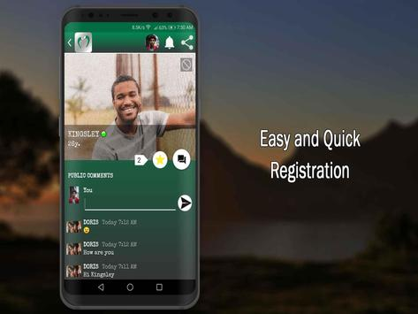 Nigerian Dating Apps-Nigeria Chat Singles Free poster