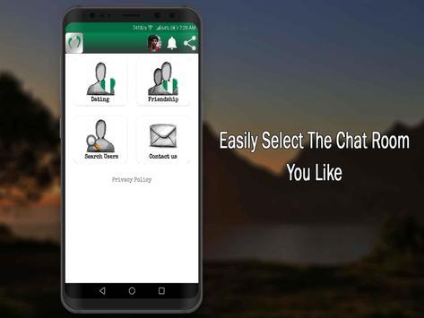 Nigerian Dating Apps-Nigeria Chat Singles Free screenshot 1