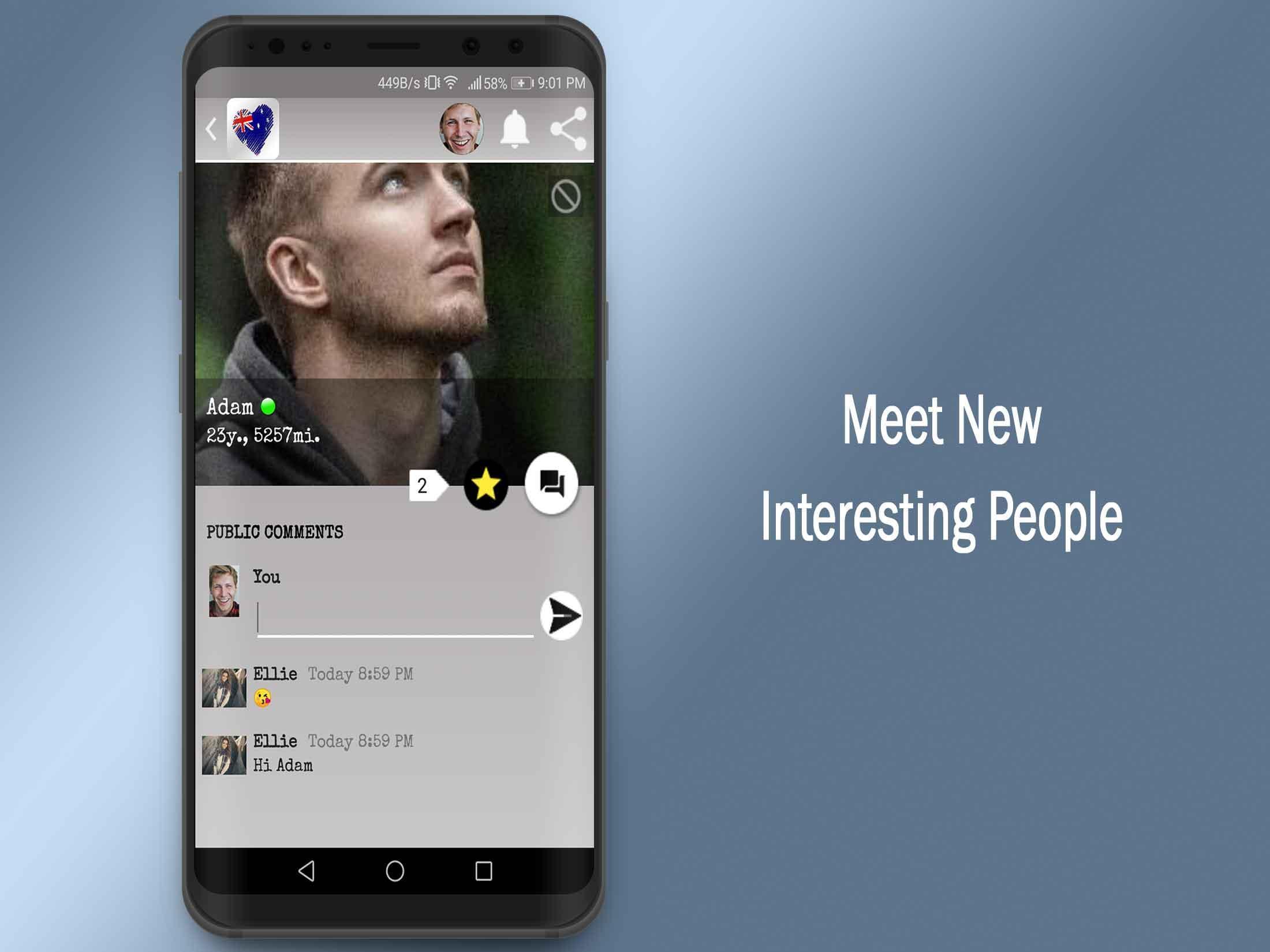 Australia Dating App-Australian Chat Singles for Android