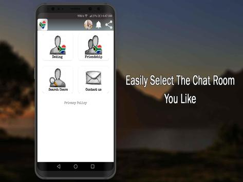 South African Dating App-African Singles Chat Free screenshot 1