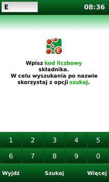 E-kody: Sprawdź co jesz! plakat