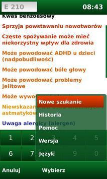 E-kody: Sprawdź co jesz! screenshot 4