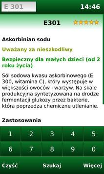 E-kody Free: Sprawdź co jesz! screenshot 2