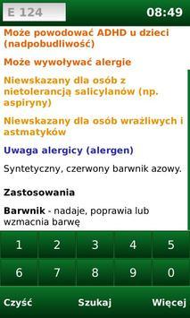 E-kody Free: Sprawdź co jesz! screenshot 3