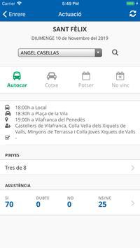 Castellers d'Esplugues screenshot 2