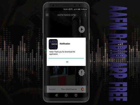 AAFM Radio App Free screenshot 2