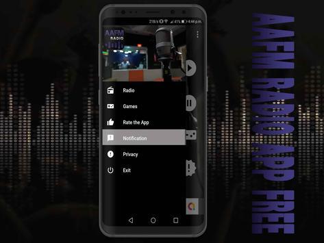 AAFM Radio App Free screenshot 3