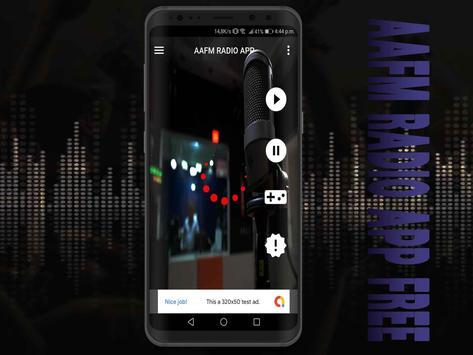 AAFM Radio App Free screenshot 4