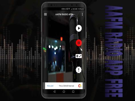AAFM Radio App Free screenshot 6