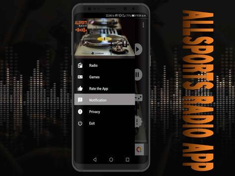 All Sports Radio App free screenshot 3