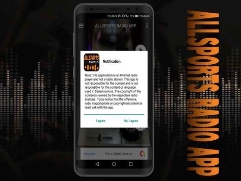 All Sports Radio App free screenshot 7